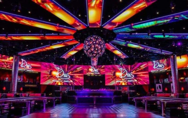 Drai's Las Vegas Nightclub main room and dance floor.