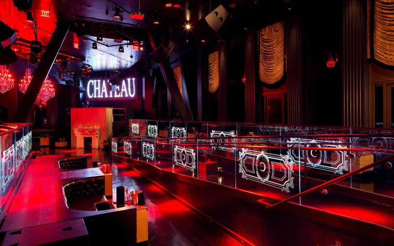 Chateau Las Vegas Nightclub main room.