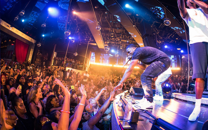 Get added to the guestlist at Drai's Nightclub.