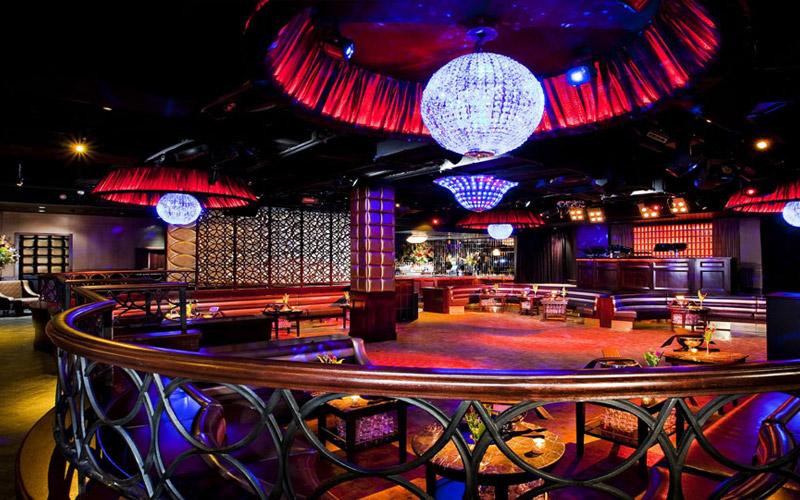 Lavo Nightclub in Vegas in the Main room.