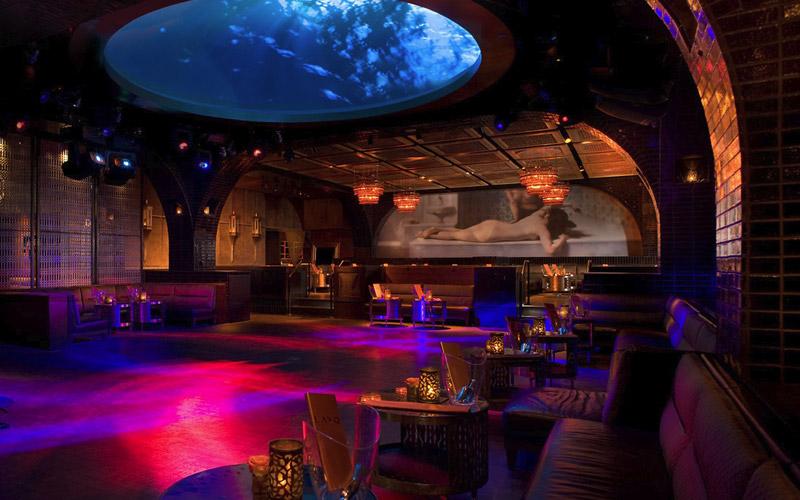 Lavo Nightclub in Vegas.
